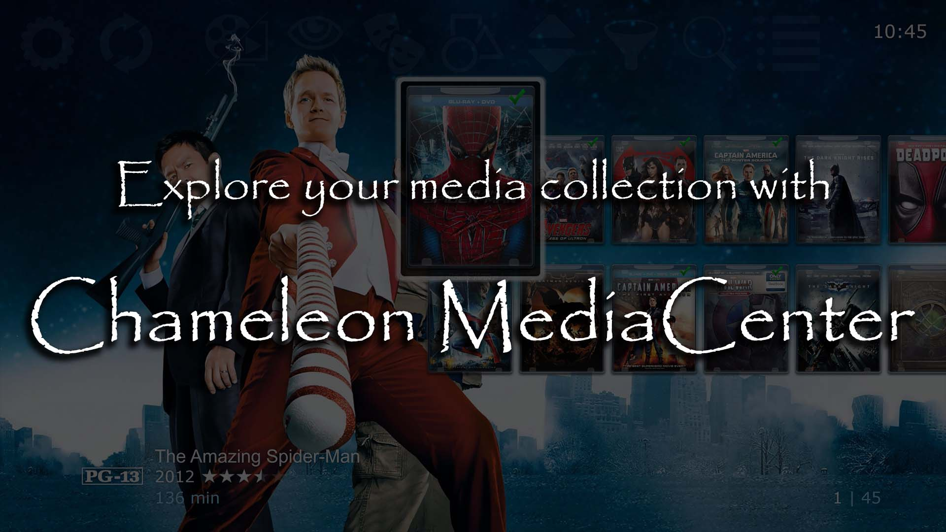 Unleash your media collection with Chameleon MediaCenter