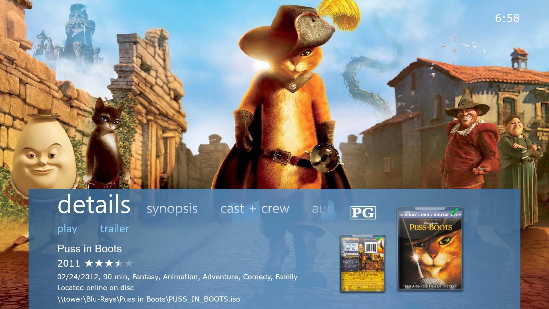 Explore movie details